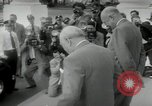 Image of Dwight D Eisenhower and Winston Churchill Washington DC USA, 1953, second 46 stock footage video 65675033296