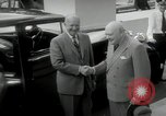 Image of Dwight D Eisenhower and Winston Churchill Washington DC USA, 1953, second 58 stock footage video 65675033296