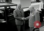 Image of Dwight D Eisenhower and Winston Churchill Washington DC USA, 1953, second 59 stock footage video 65675033296