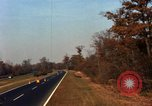 Image of Traffic on Palisades Parkway New York United States USA, 1965, second 32 stock footage video 65675033344