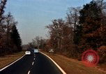 Image of Traffic on Palisades Parkway New York United States USA, 1965, second 45 stock footage video 65675033344