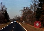 Image of Traffic on Palisades Parkway New York United States USA, 1965, second 46 stock footage video 65675033344