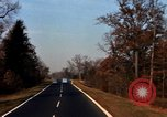 Image of Traffic on Palisades Parkway New York United States USA, 1965, second 49 stock footage video 65675033344
