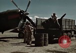 Image of Refueling of planes Philippines, 1945, second 2 stock footage video 65675033354