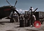 Image of Refueling of planes Philippines, 1945, second 8 stock footage video 65675033354