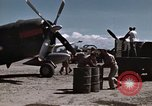 Image of Refueling of planes Philippines, 1945, second 10 stock footage video 65675033354