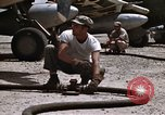 Image of Refueling of planes Philippines, 1945, second 36 stock footage video 65675033354