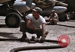 Image of Refueling of planes Philippines, 1945, second 40 stock footage video 65675033354