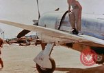 Image of P-47N Thunderbolts of the 464th Fighter Squadron Ryukyu Islands, 1945, second 2 stock footage video 65675033358