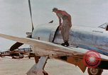 Image of P-47N Thunderbolts of the 464th Fighter Squadron Ryukyu Islands, 1945, second 3 stock footage video 65675033358