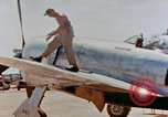 Image of P-47N Thunderbolts of the 464th Fighter Squadron Ryukyu Islands, 1945, second 4 stock footage video 65675033358