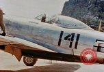 Image of P-47N Thunderbolts of the 464th Fighter Squadron Ryukyu Islands, 1945, second 7 stock footage video 65675033358