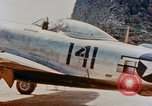 Image of P-47N Thunderbolts of the 464th Fighter Squadron Ryukyu Islands, 1945, second 8 stock footage video 65675033358