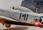 Image of P-47N Thunderbolts of the 464th Fighter Squadron Ryukyu Islands, 1945, second 9 stock footage video 65675033358