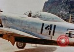 Image of P-47N Thunderbolts of the 464th Fighter Squadron Ryukyu Islands, 1945, second 10 stock footage video 65675033358