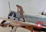 Image of P-47N Thunderbolts of the 464th Fighter Squadron Ryukyu Islands, 1945, second 13 stock footage video 65675033358