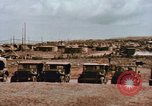 Image of Quonset hut Mariana Islands, 1945, second 27 stock footage video 65675033377