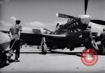 Image of 110 gallon auxiliary fuel tanks Korea, 1951, second 5 stock footage video 65675033387