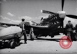 Image of 110 gallon auxiliary fuel tanks Korea, 1951, second 6 stock footage video 65675033387