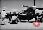 Image of 110 gallon auxiliary fuel tanks Korea, 1951, second 8 stock footage video 65675033387