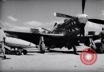 Image of 110 gallon auxiliary fuel tanks Korea, 1951, second 10 stock footage video 65675033387