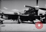 Image of 110 gallon auxiliary fuel tanks Korea, 1951, second 14 stock footage video 65675033387