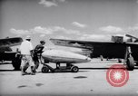 Image of 110 gallon auxiliary fuel tanks Korea, 1951, second 16 stock footage video 65675033387