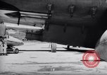 Image of 110 gallon auxiliary fuel tanks Korea, 1951, second 62 stock footage video 65675033387