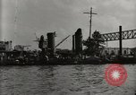Image of Wrecked ships Pearl Harbor Hawaii USA, 1942, second 12 stock footage video 65675033415