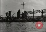 Image of Wrecked ships Pearl Harbor Hawaii USA, 1942, second 14 stock footage video 65675033415