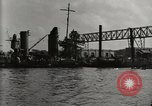 Image of Wrecked ships Pearl Harbor Hawaii USA, 1942, second 15 stock footage video 65675033415