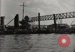 Image of Wrecked ships Pearl Harbor Hawaii USA, 1942, second 17 stock footage video 65675033415