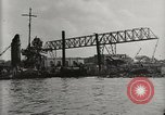 Image of Wrecked ships Pearl Harbor Hawaii USA, 1942, second 19 stock footage video 65675033415