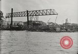 Image of Wrecked ships Pearl Harbor Hawaii USA, 1942, second 20 stock footage video 65675033415
