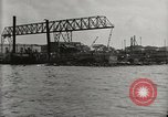 Image of Wrecked ships Pearl Harbor Hawaii USA, 1942, second 21 stock footage video 65675033415