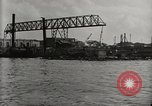 Image of Wrecked ships Pearl Harbor Hawaii USA, 1942, second 23 stock footage video 65675033415