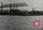 Image of Wrecked ships Pearl Harbor Hawaii USA, 1942, second 24 stock footage video 65675033415