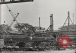 Image of Wrecked ships Pearl Harbor Hawaii USA, 1942, second 29 stock footage video 65675033415