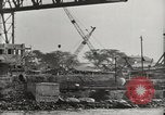 Image of Wrecked ships Pearl Harbor Hawaii USA, 1942, second 30 stock footage video 65675033415
