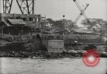 Image of Wrecked ships Pearl Harbor Hawaii USA, 1942, second 31 stock footage video 65675033415