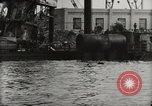 Image of Wrecked ships Pearl Harbor Hawaii USA, 1942, second 38 stock footage video 65675033415