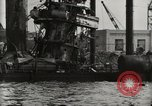 Image of Wrecked ships Pearl Harbor Hawaii USA, 1942, second 39 stock footage video 65675033415