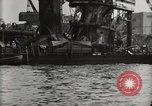 Image of Wrecked ships Pearl Harbor Hawaii USA, 1942, second 41 stock footage video 65675033415