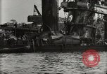 Image of Wrecked ships Pearl Harbor Hawaii USA, 1942, second 42 stock footage video 65675033415