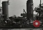 Image of Wrecked ships Pearl Harbor Hawaii USA, 1942, second 43 stock footage video 65675033415