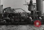 Image of Wrecked ships Pearl Harbor Hawaii USA, 1942, second 48 stock footage video 65675033415