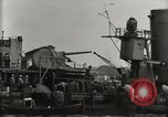 Image of Wrecked ships Pearl Harbor Hawaii USA, 1942, second 49 stock footage video 65675033415
