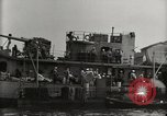 Image of Wrecked ships Pearl Harbor Hawaii USA, 1942, second 52 stock footage video 65675033415