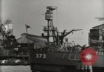 Image of Wrecked ships Pearl Harbor Hawaii USA, 1942, second 59 stock footage video 65675033415