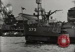 Image of Wrecked ships Pearl Harbor Hawaii USA, 1942, second 60 stock footage video 65675033415